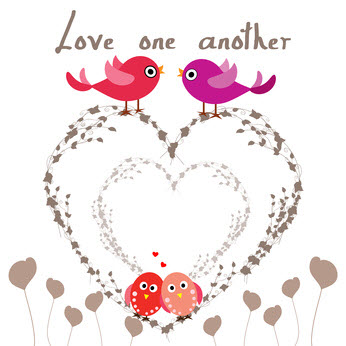 Let's love one another.